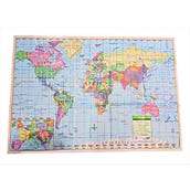 World Map, Pack of 2