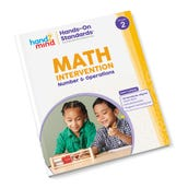 Hands-On Standards® Math Intervention: Number & Operations, Grade 2