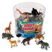 Jungle Animal Counters (Set of 60)