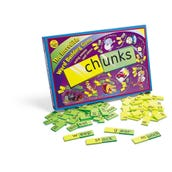Chunks: The Incredible Word Building Game, Set of 140