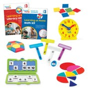 Learning at Home Math & Literacy, Grade 3