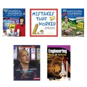 STEM Engineeing Book Collection (5 Books), Grades 4-5