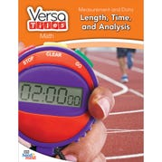 VersaTiles®Math Book: Measurement and Data: Length, Time, and Analysis