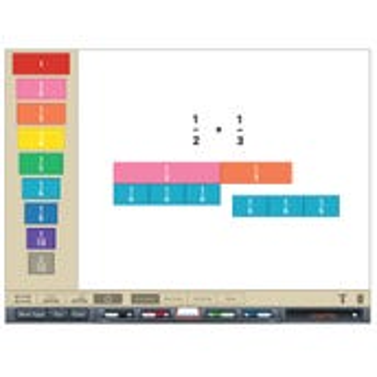 Brainingcamp Fraction Tiles Virtual Manipulative, Classroom