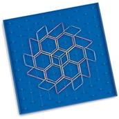 Pattern Blocks Geoboard