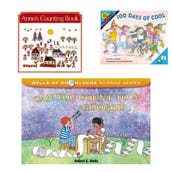 Math Counting Book Collection (7 Books), Grades K-1