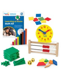 Hands-On Standards® Learning at Home Math Kit, Grade 2