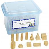 Foam GeoSolids® Classroom Kit, Set of 96
