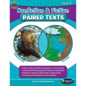 Nonfiction & Fiction Paired Texts, Grade Six