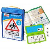 VersaTiles® Literacy Take Along Pack, Grade 4