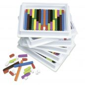 Six-Tray Pack of Connecting Cuisenaire®Rods