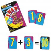 Snap It Up!: Addition/Subtraction, 1 Deck