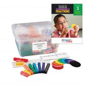 Hands-On Standards®, Common Core Fractions Classroom Kit, Grade 3