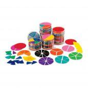 Rainbow Fraction ® Circles Classroom Kit, Set of 15