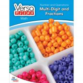 VersaTiles®Math Book: Number and Operations: Multi-Digit and Fractions
