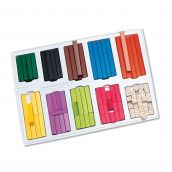 Cuisenaire® Rods Small-Group Set, Plastic, Set of 148