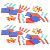 Foam Algebra Tiles Classroom Kit, Set of 30