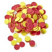 Foam Two-Color Counters, Set of 200