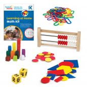 Hands-On Standards® Learning at Home Math Kit, Grade K