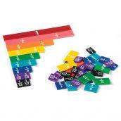 Rainbow Fraction® Tiles, Set of 51