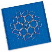 Pattern Blocks Geoboard