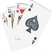 Playing Cards, Standard Size, 1 Deck