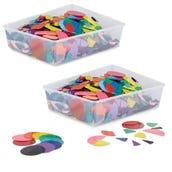Rainbow Fraction® Circles Classroom Kit, Set of 30