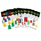 Guided Math, Grade K - Grade Level Bundle, Units 1-9