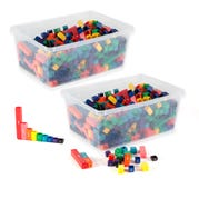 Fraction Tower® Cubes Classroom Kit, Set of 30