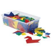 Foam Tangrams Classroom Kit, Set of 32