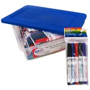 Fine Point Dry Erase Markers Classroom Kit