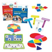 Learning at Home Math & Literacy, Grade 5