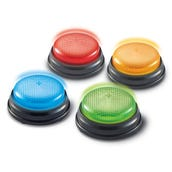Lights & Sounds Answer Buzzers, Set of 4