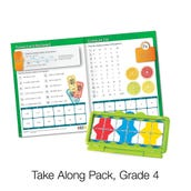 VersaTiles® Math Take Along Pack, Grade 4