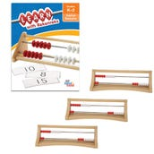20-Bead Plastic Learn with Rekenreks Small Group Kit