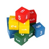 Place Value Cubes, Set of 12
