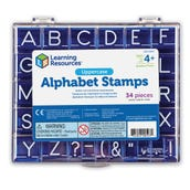 Alphabet & Punctuation Stamp Sets, Uppercase