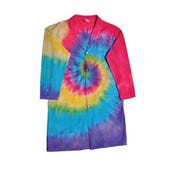 Tie Dye Lab Coat, Adult Medium