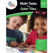 Math Tasks Color Tiles Book, Grades K-2
