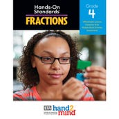 Hands-On Standards®, Fractions National Teacher's Resource Guide, Grade 4