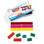 Rainbow Fraction® Tiles, Demonstration Clings