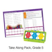 VersaTiles® Math Take Along Pack, Grade 5