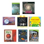 Science Astronomy Book Collection (8 Books), Grades 2-3