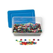 Transparent Counters Classroom Kit, Set of 5,000