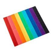 Blank Rainbow Fraction® Tiles, Set of 51