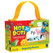 Hot Dots Jr. Card Set: Beginning Phonics Cards, 1 Deck