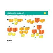 Algeblocks Activity Cards: Exploring The Models, Set of 16