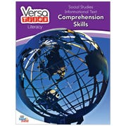 VersaTiles® Literacy Book: Social Studies Informational Text: Comprehension Skills, Grade 6