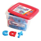 Jumbo Color-Coded Alphamagnets® Lowercase (Set Of 42)