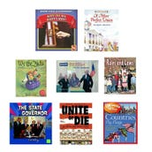 Social Studies Government Book Collection (8 Books), Grades 2-3